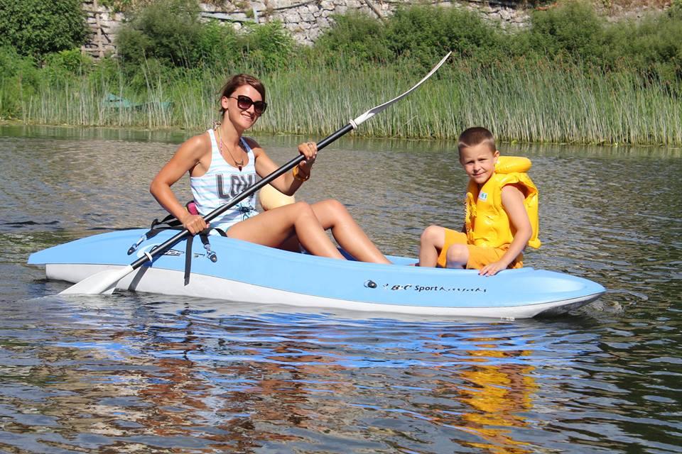 Kayaking on Lake Skadar